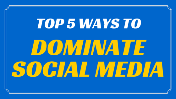 Top 5 Career Tips: Dominate Social Media